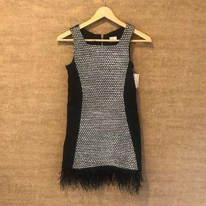 Shift Feather Dress by ZOE LTD